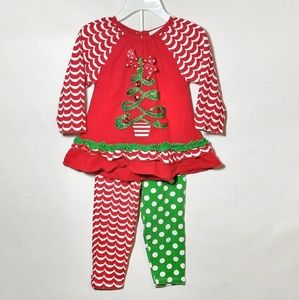 Rare Edition Christmas tree outfit 12 month